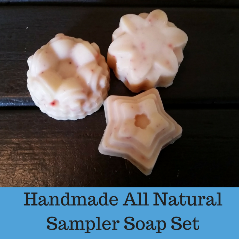 Handmade All Natural Soap Sampler Set