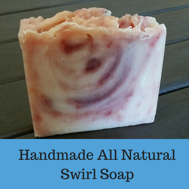All Natural Handmade Swirl Soap