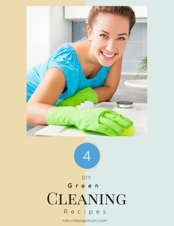 4 DIY Green Cleaning Recipe Swaps
