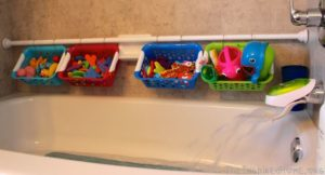 10 Clever Bath Toy Storage Ideas That You Need to See. Tired of tripping bath & 10 Clever Bath Toy Storage Ideas You Need To See
