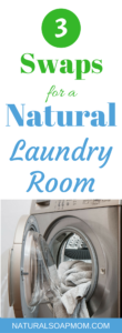 The ultimate guide to an all natural laundry room. Easy swaps that really work. It's easy, I'll show you how! From detergent, to fabric softener, bleach and stain removers. We've got you covered with solutions that really work. Even tips on adding essential oils as a fragrance to your dryer.
