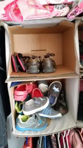 Kids Shoe Organization Is Easy With These DIY Closet Storage