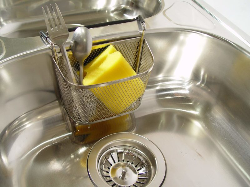 ... Stainless Steel Kitchen Sink Cleaner. Tired Of A Dirty Looking Sink?  Learn How To Make Your Own DIY Kitchen Sink