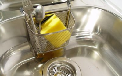 Simple, All Natural Stainless Steel Kitchen Sink Cleaner
