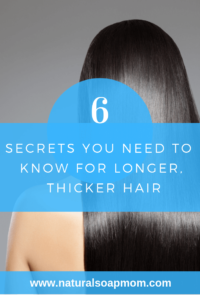 Learn the secrets to grow thicker, longer hair. All natural solutions for beautiful hair - all from the comfort of your home! Click to learn how!